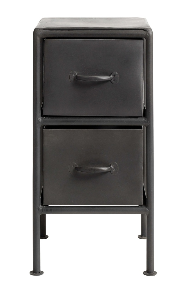 Drawer cabinet 05 29x59x30 Black/Iron